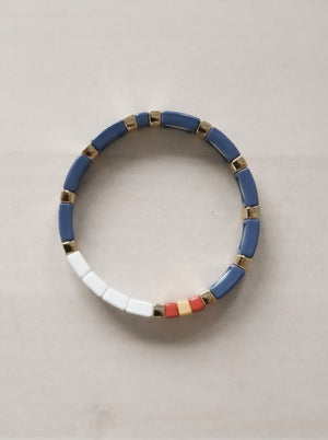 Load image into Gallery viewer, MAMA BRACELET BLUE