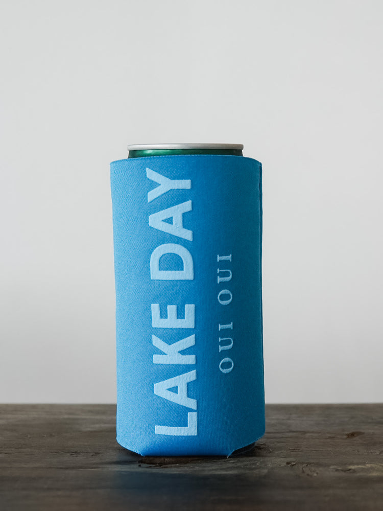 LAKE DAY OUI OUI SLIM KOOZIE