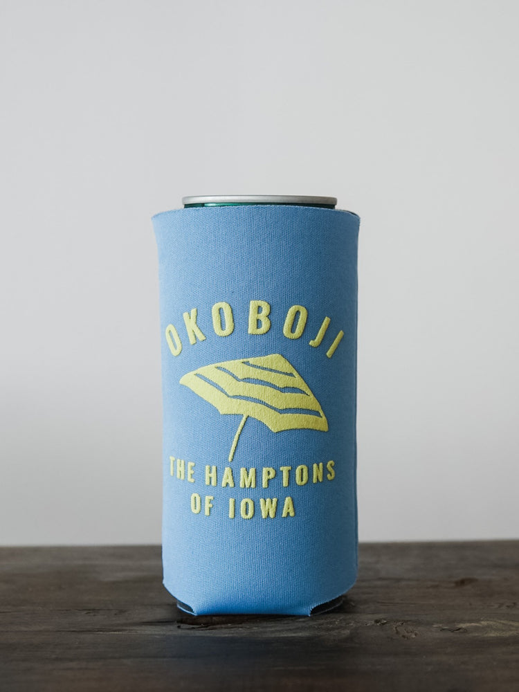 THE HAMPTONS OF IOWA SLIM KOOZIE PACK OF 4