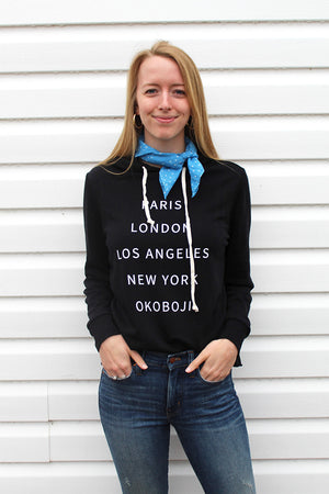 Load image into Gallery viewer, MANHATTAN BEACH HOODIE