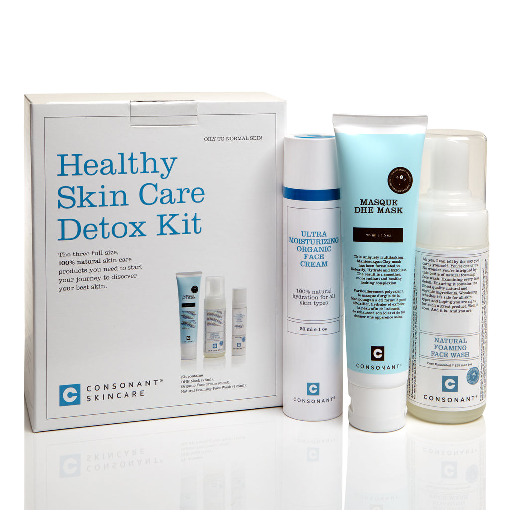 Healthy Skin Care Detox Kit