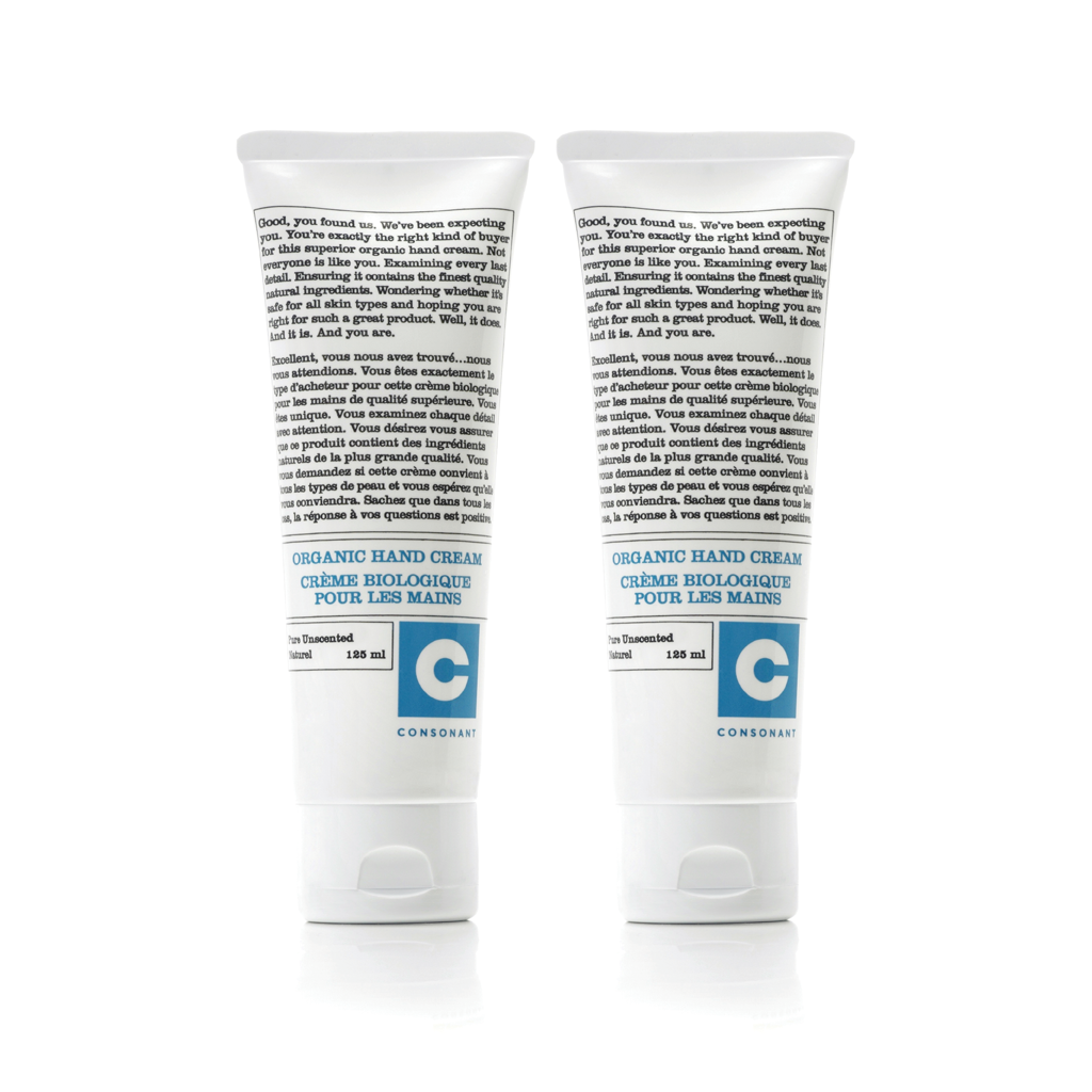 Intensive Therapy Organic Hand Cream | Pack of Two