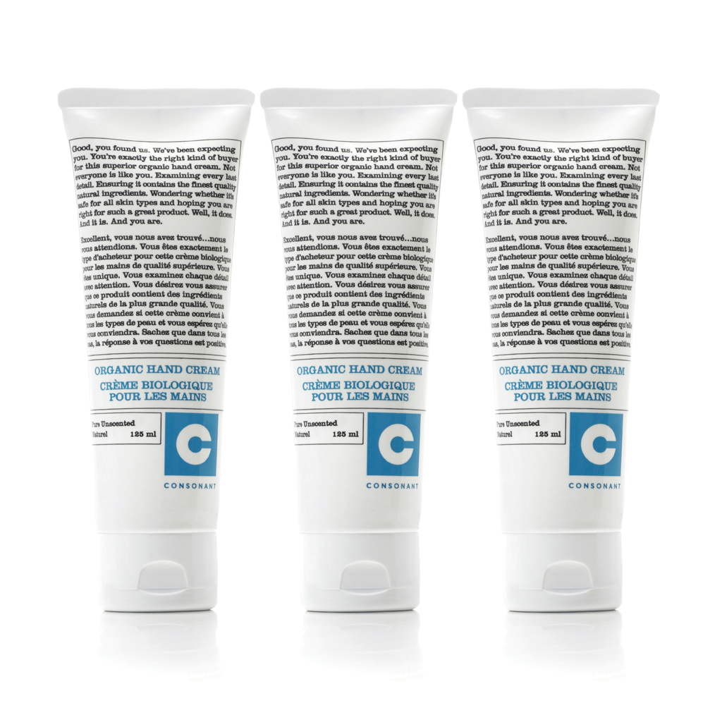 Intensive Therapy Organic Hand Cream | Pack of Three