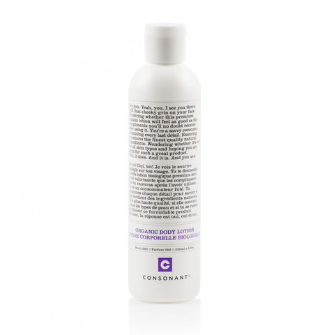 Organic Body Lotion - Scent 002