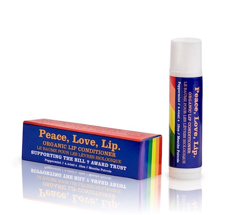 Peace, Love, Lip. Organic Lip Conditioner.
