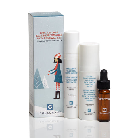 100% Natural Skin Renewal Set