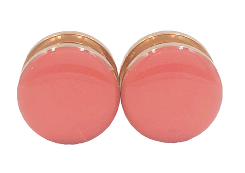 Pink Coral Gloss Plugs - Defiant Jewelry