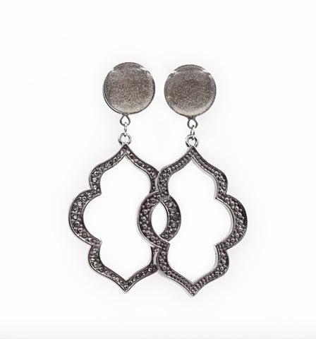 Chrome Shimmer Intricate Dangle Plugs - Defiant Jewelry