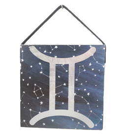 Custom Astrology Wood Plank Sign - Defiant Jewelry