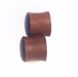 Royal Blue Shimmer Wood Plugs - Defiant Jewelry