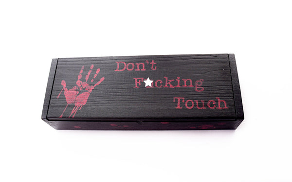 Don't Touch Bloody Jewelry Box - Defiant Jewelry