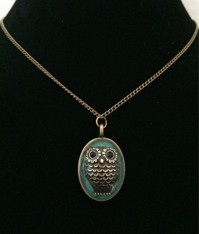 Owl Necklace - Defiant Jewelry