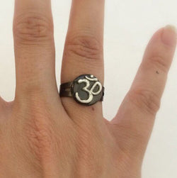 Om ring - Defiant Jewelry