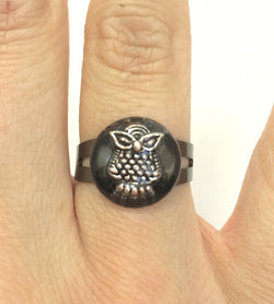 Owl Ring - Defiant Jewelry