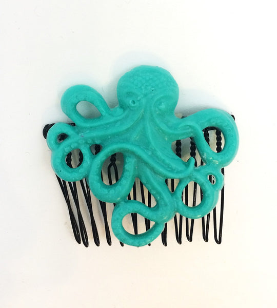Octopus Hair Comb - Defiant Jewelry