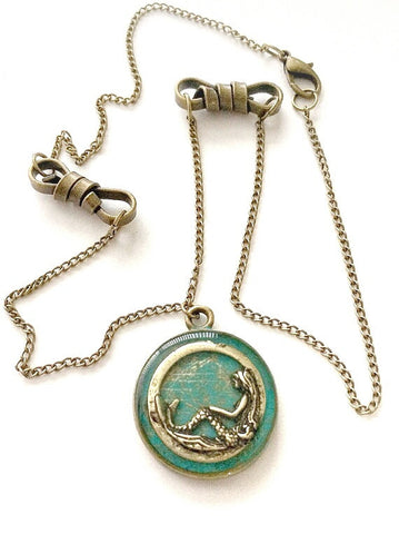 Mermaid Necklace with Knots - Defiant Jewelry