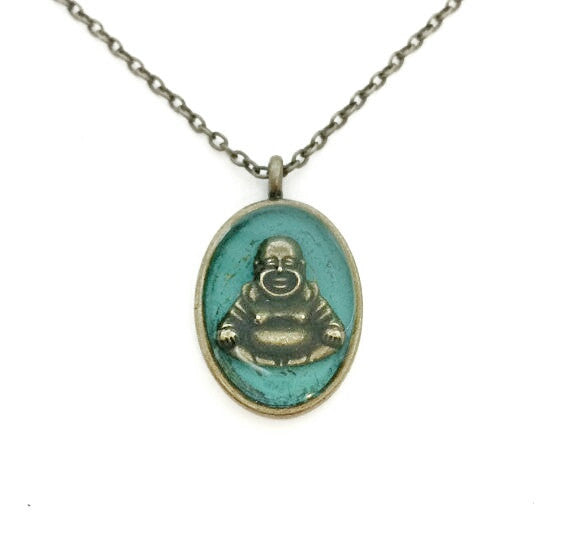Buddha Necklace - Defiant Jewelry