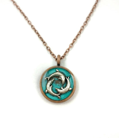 Dolphin Necklace - Defiant Jewelry