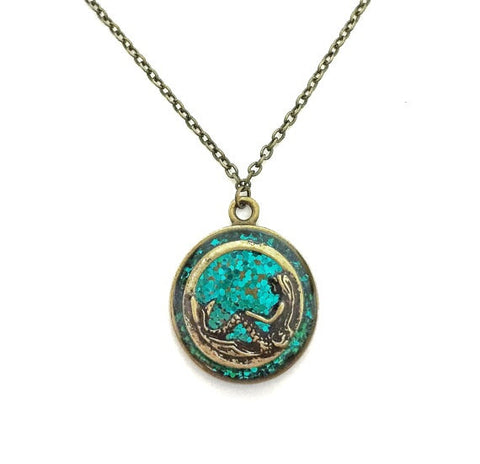 Mermaid Glitter Necklace - Defiant Jewelry