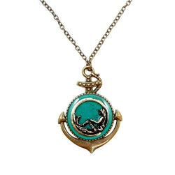 Anchor Mermaid Necklace - Defiant Jewelry