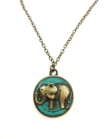 Elephant Necklace - Defiant Jewelry