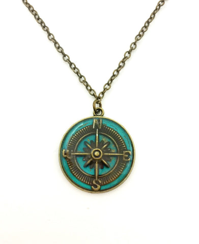 Compass Necklace - Defiant Jewelry