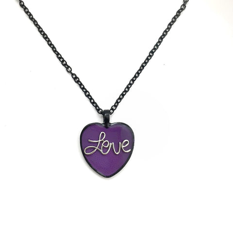 Heart Love Necklace - Defiant Jewelry
