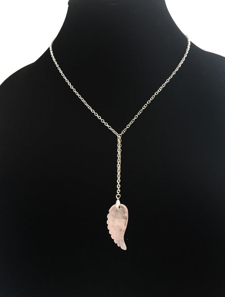 Rose Quartz Crystal Necklace - Defiant Jewelry
