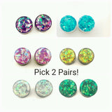 Holographic Plugs Set - Defiant Jewelry
