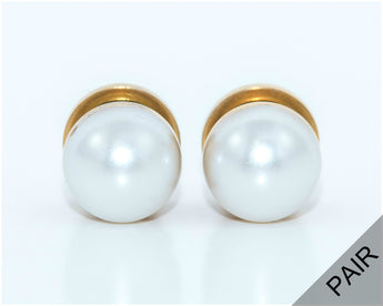 Pearl Plugs - Defiant Jewelry