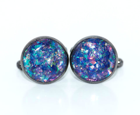Holographic Cufflinks - Defiant Jewelry