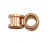 Bronze Matte Shimmer Tunnel Plugs