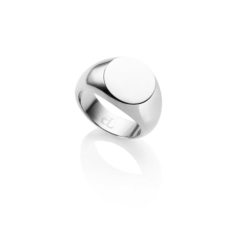 Personalise Signet Ring (Silver)