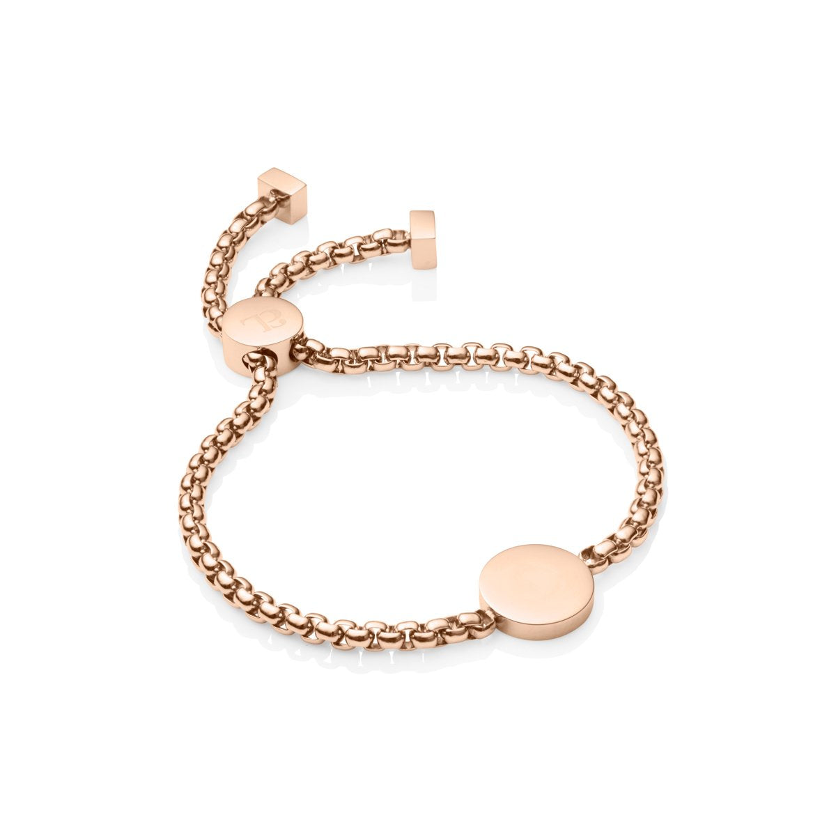 Luna Chain Bracelet (Rose Gold)