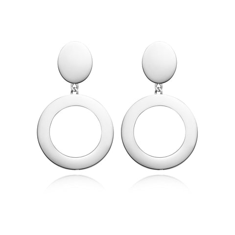 Luna Earrings (Silver)