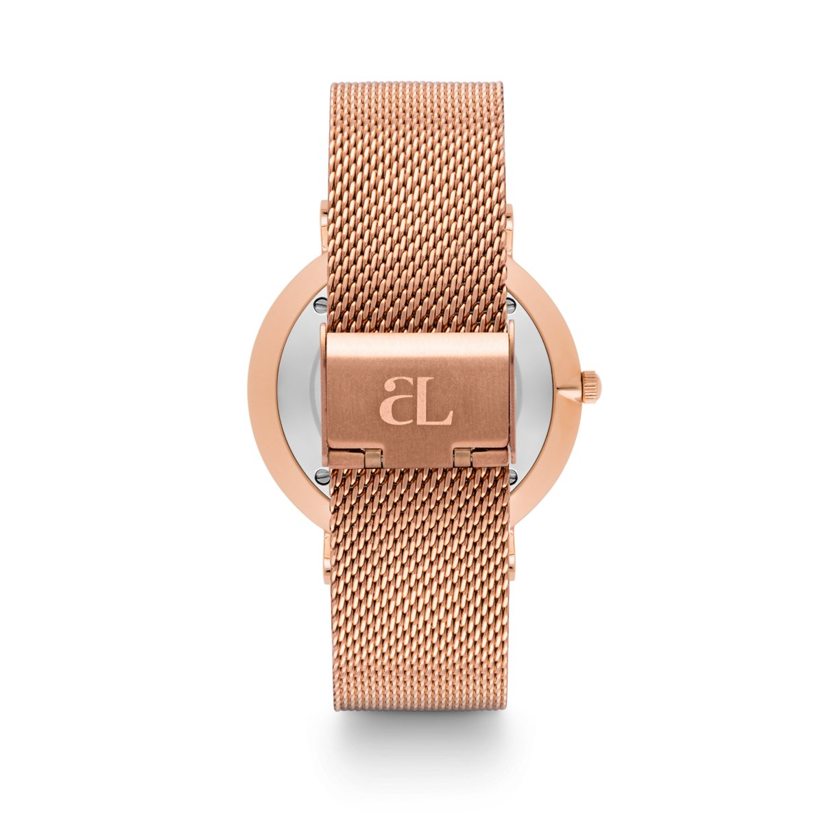 Rose Gold Chain Enamel 40 (Mauve Pink/Rose Gold)