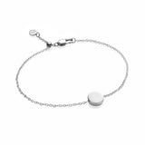 Little Luxe Disc Bracelet (Silver)