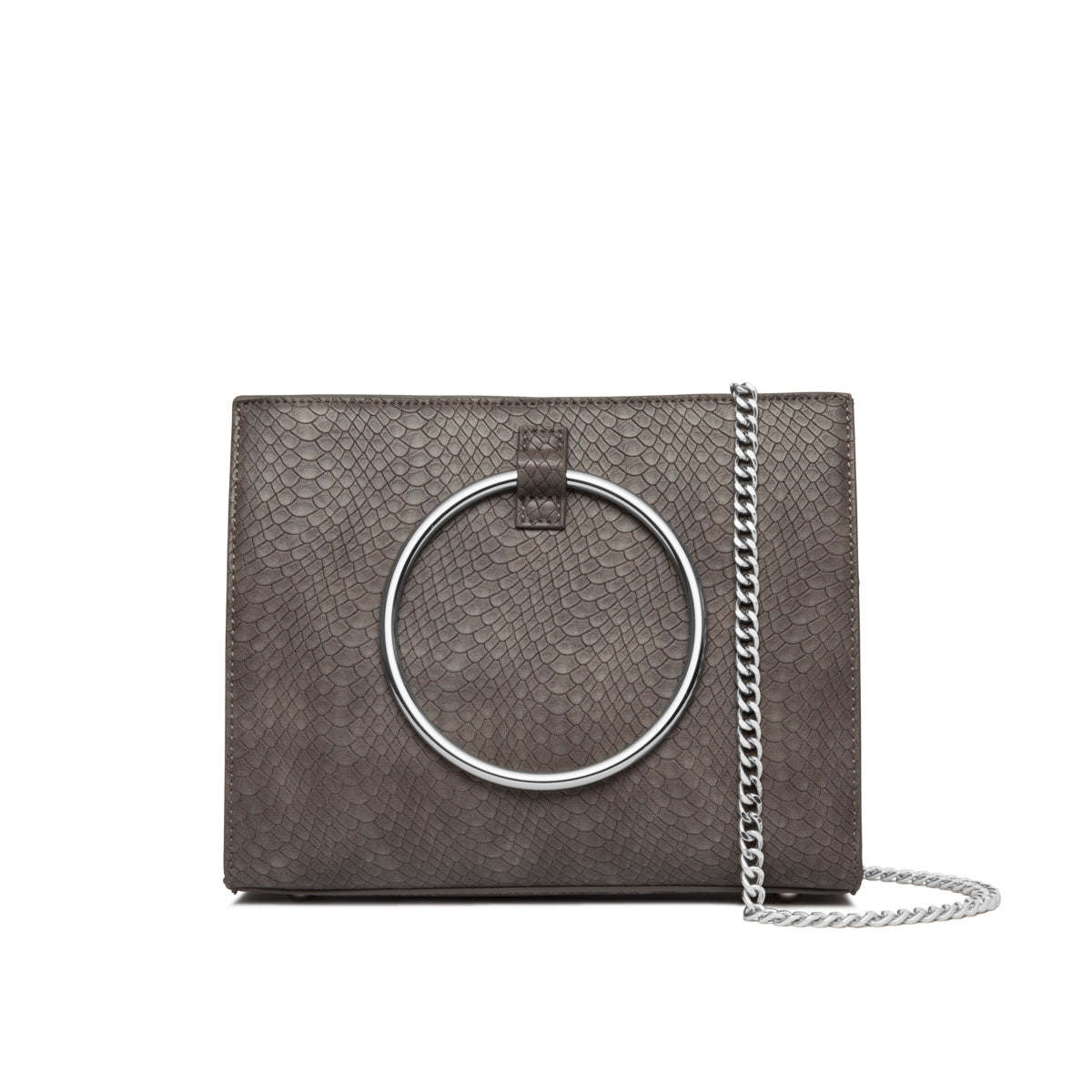 Moda Top Handle bag (Frost Grey/Silver)