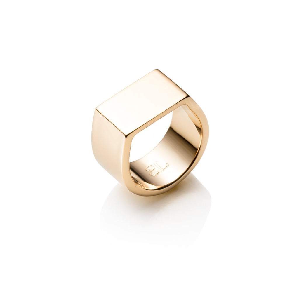 Lineare Ring (Gold)