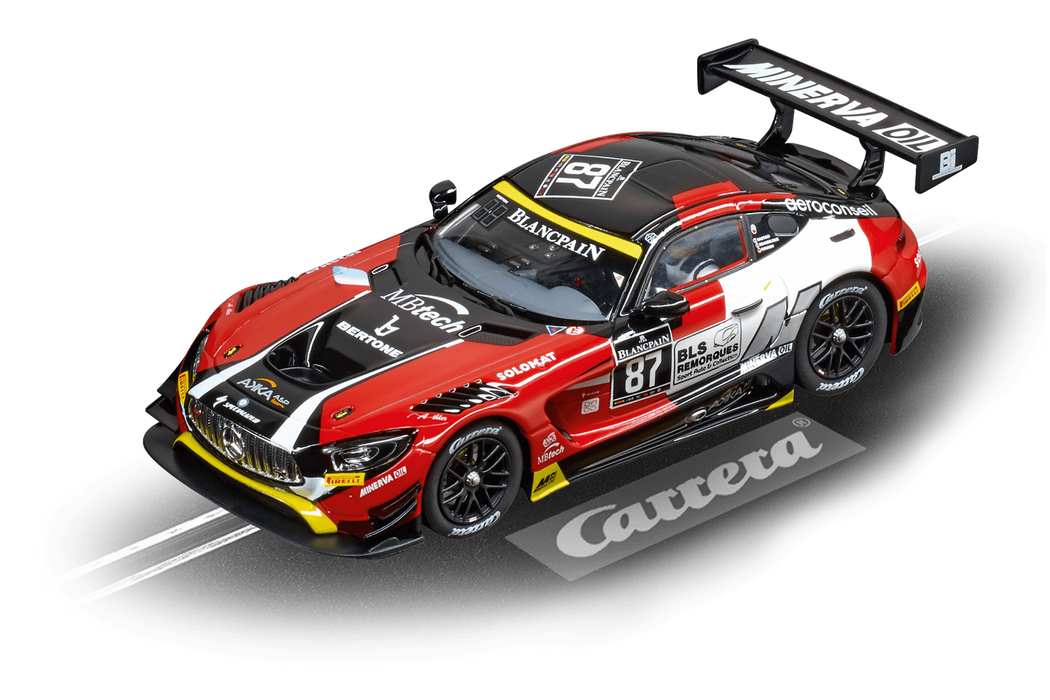 Carrera Digital 132,Mercedes-amg GT3 ( Akka asp, no87)