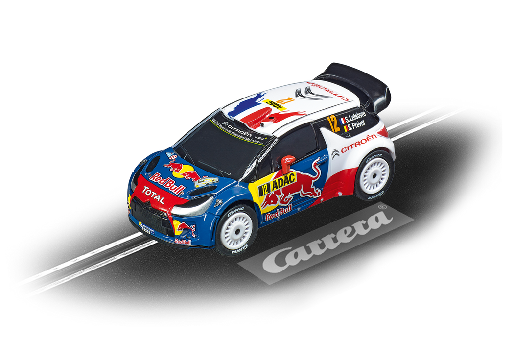 Carrera GO, DS 3 WRC 2012 (red bull - lefebvre ) Rally Germany
