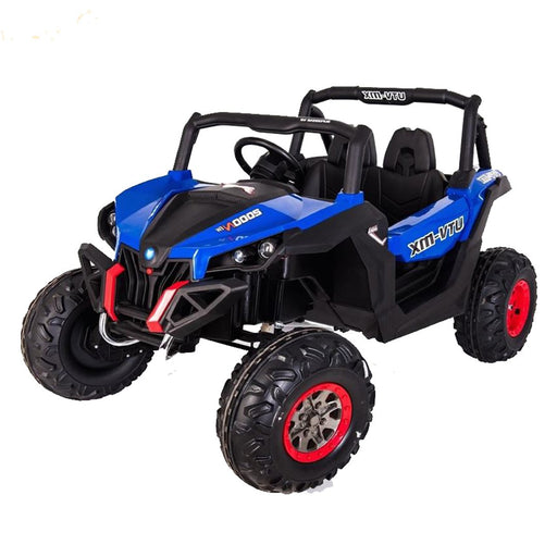 Buggy Utv-Mx (4X4) (2X12 Volts) (2 Places) Bleu Voitures Places)