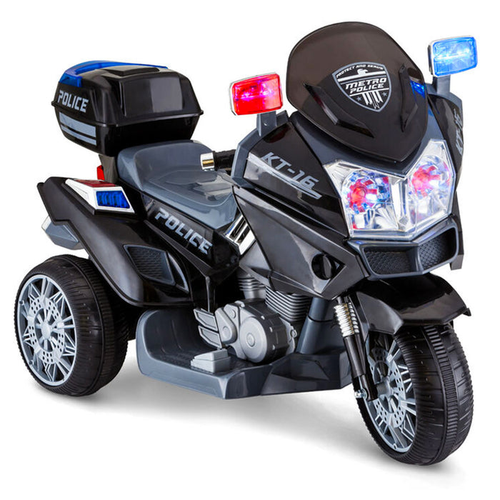 Kid Trax, Moto de Police (6 Volts) (1 Place)