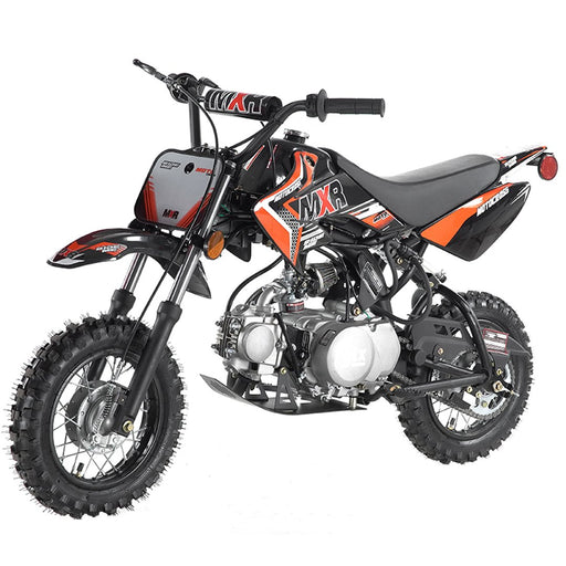 Apollo Mini Mxr 70 Motocross À Essence (70Cc) (4 Temps) (Semi-Auto) Orange Motocross