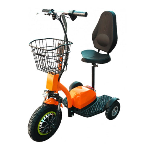 Zappy Dx Triporteur (48 Volts) (500 Watts) Orange Scooter Électrique