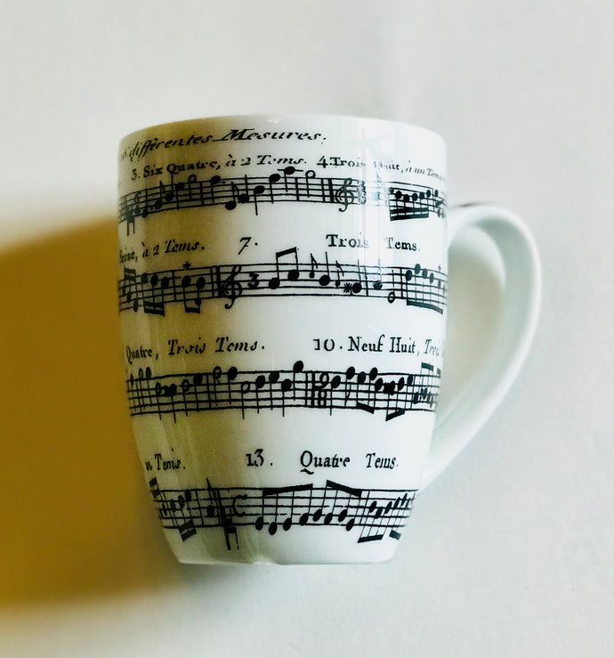 Adagio Musical Note Breakfast Mug