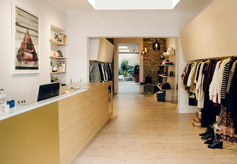 Interior Diverse boutique London NW5-Diverse