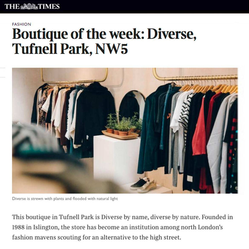 Diverse in the Media Sunday Times Fashion article