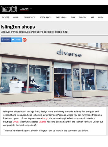 Time Out London Best Shops N1 review