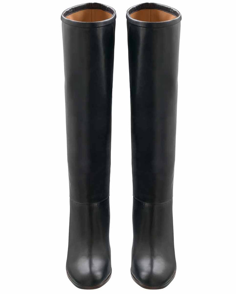 APC Marion knee high boots black-Top
